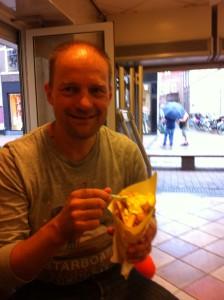 Fritten Essen in Zwolle