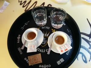 Der Cafe Espresso zwischendurch gefiel uns besonders gut