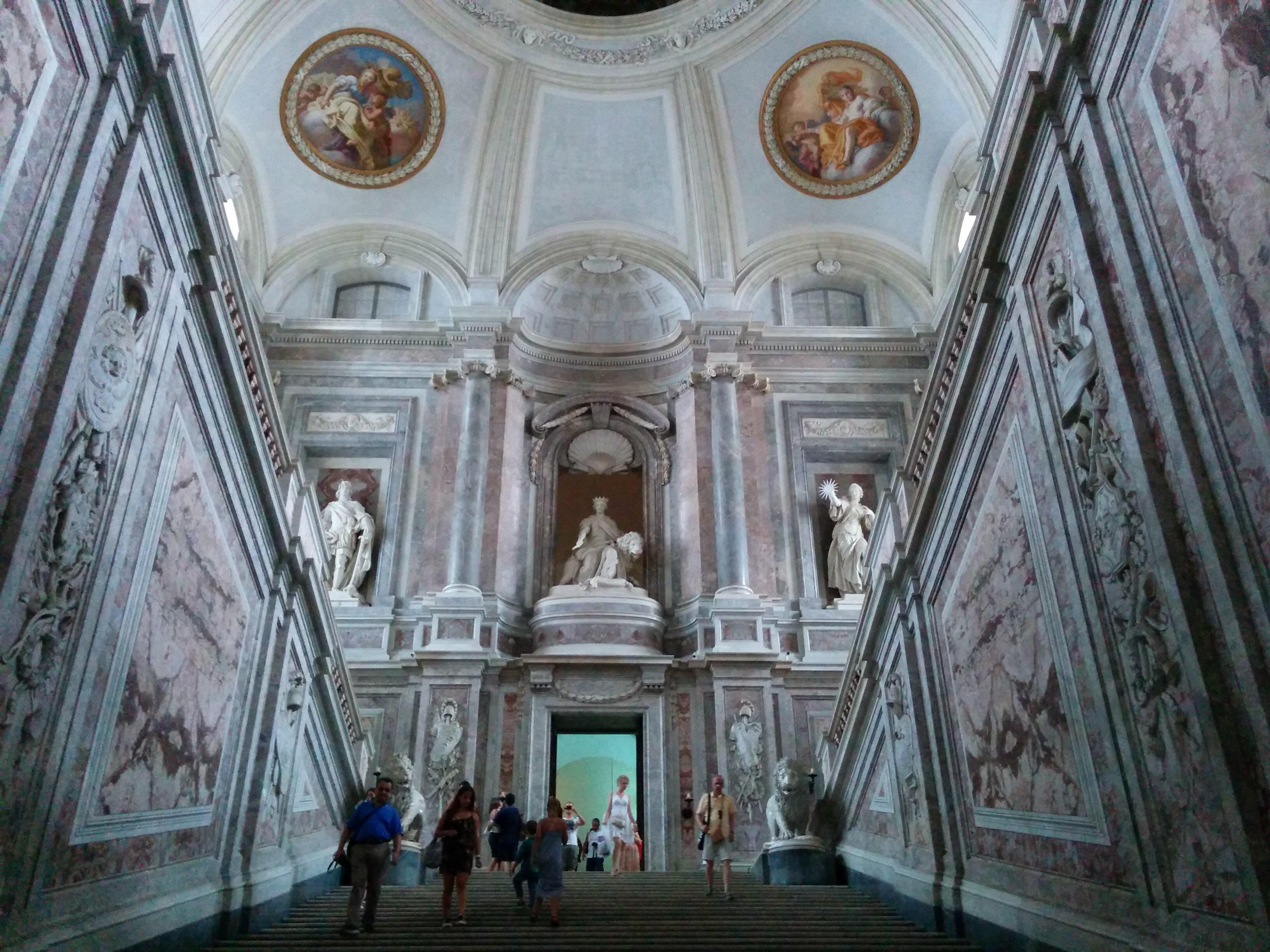 Der Königspalast von Caserta (Tag 23, 10. August 2015)