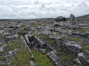 Kraterlandschaft im Burren