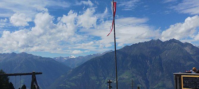 Wandertag in Südtirol vom Vigiljoch zur Naturnser Alm (Fr, 28.07.2017)