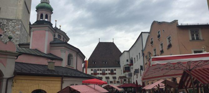Hall in Tirol, gleich zwei Mal (Sa, 22.07.17)